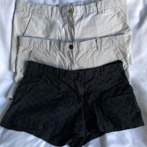 GAP Summer Shorts - 3 Pairs